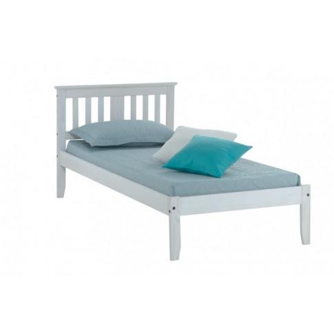 Birlea Salvador 3ft Single White Pine Bed