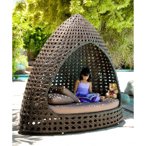 Alexander Rose Ocean Relax Garden Hut W.Cushion (12m...