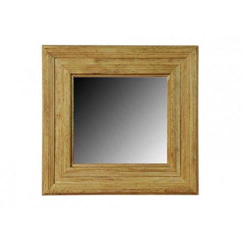 York Solid Oak Mirror