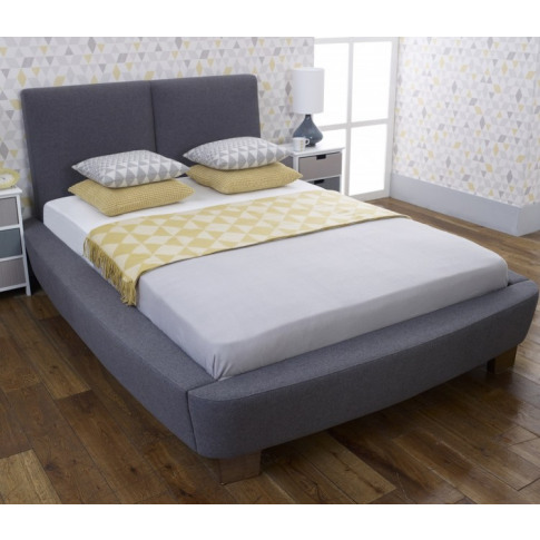 Limelight Dione 5ft Kingsize Slate Fabric Bed