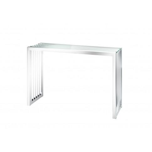 Fairmont Horizon Glass Console Table
