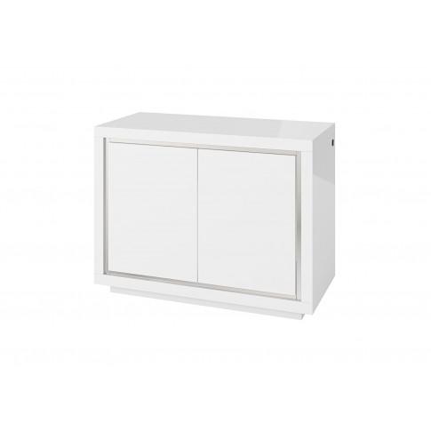 Fairmont Sardinia 120cm 2 Door White High Gloss Side...
