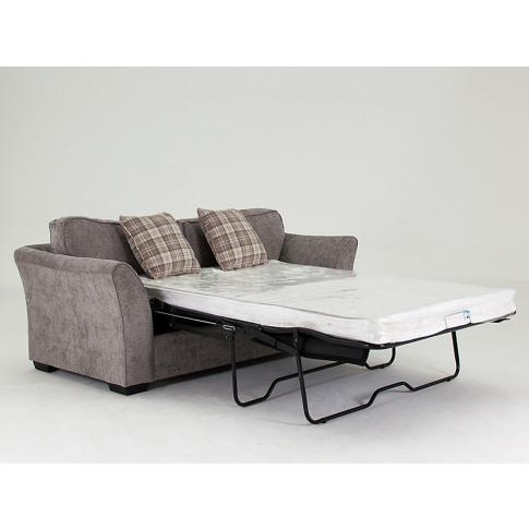 Arran Stone Fabric Sofa Bed
