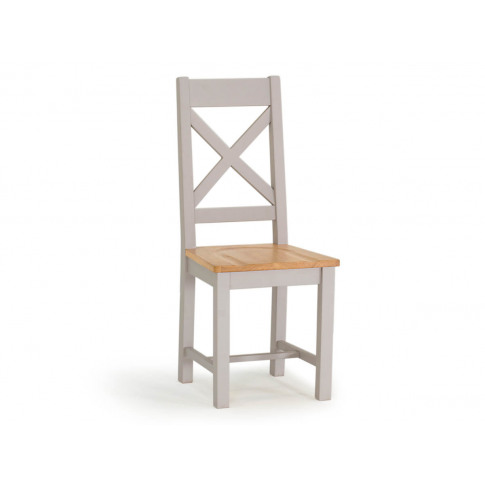 Clemence Grey Oak Dining Chair