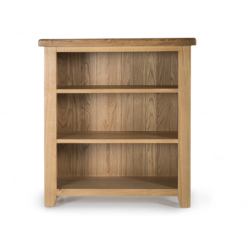 Hampshire Oak Low Bookcase