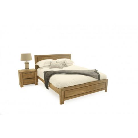 Montreal 5ft Kingsize Wooden Bed