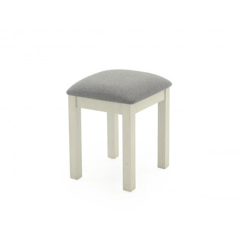 Croft Weathered Ash Wooden Stool