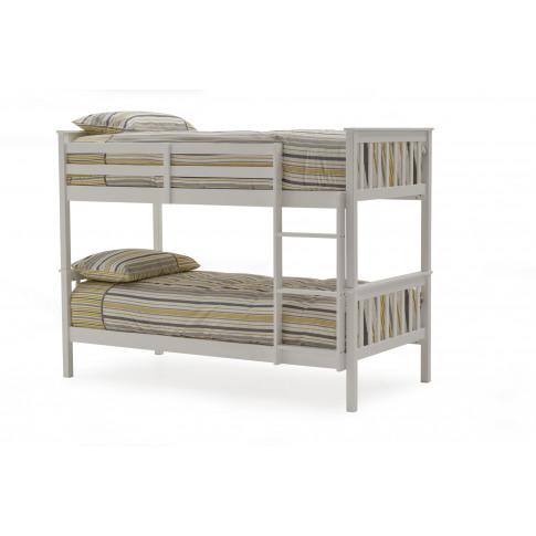 Salix Grey 3ft Single Wooden Bunk Bed