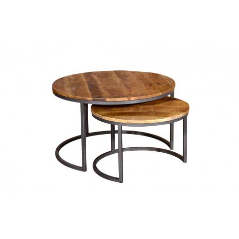 Savannah Rustic Set Of 2 Coffee Table