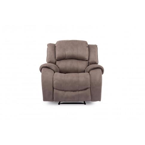 Darwin Smoke 1 Seater Recliner Fabric Armchair