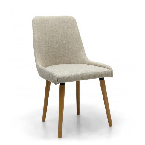 Shankar Natural Linen Effect Capri Dining Chair