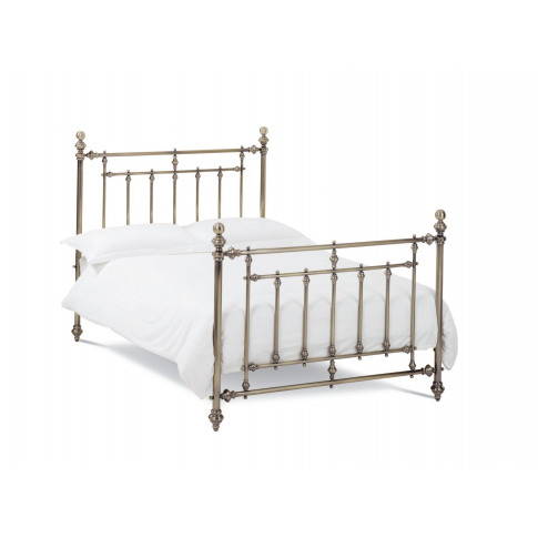 Bentley Designs Imperial 4ft6 Double Brass Metal Bed