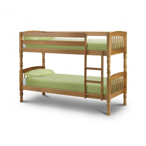 Julian Bowen Lincoln 3ft Single Pine Bunk Bed