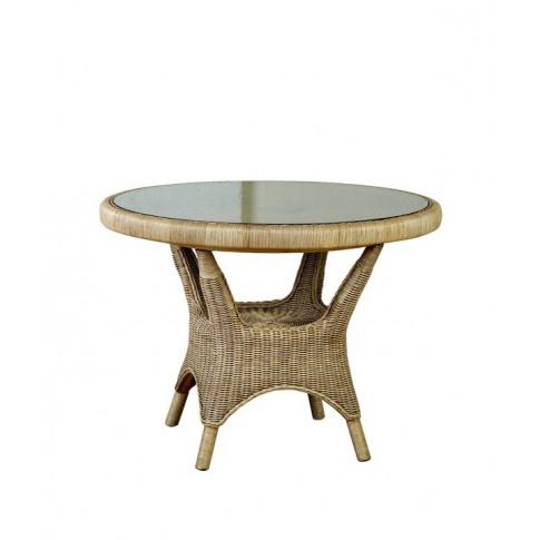 Cane Amalfi Round Dining Table