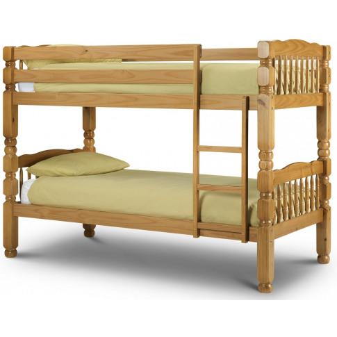 Julian Bowen Chunky Solid Pine Bunk Bed