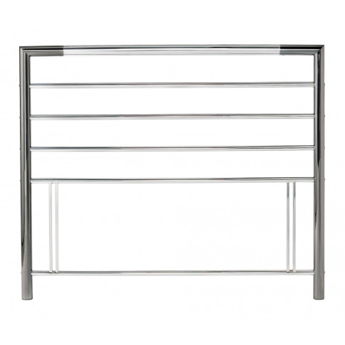Bentley Designs Urban 4ft6 Double Nickel Chrome Meta...