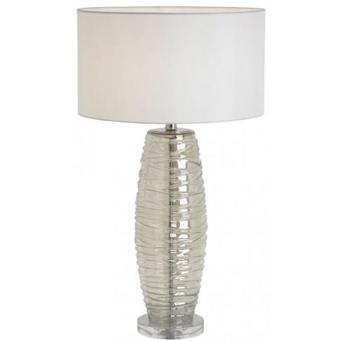 Rv Astley Bara Cognac Glass Table Lamp