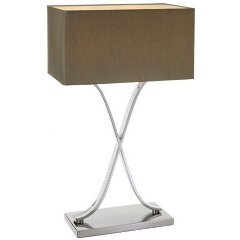Rv Astley Byton Tall Nickel Finish Table Lamp
