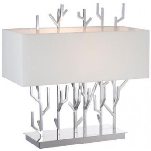 Rv Astley Carrock Nickel Finish Table Lamp