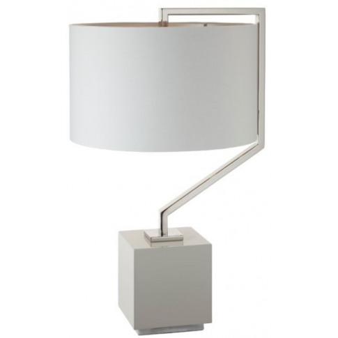 Rv Astley Tg Cyclone Nickel Table Lamp
