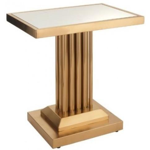 Rv Astley Ealing Mirror Top Side Table