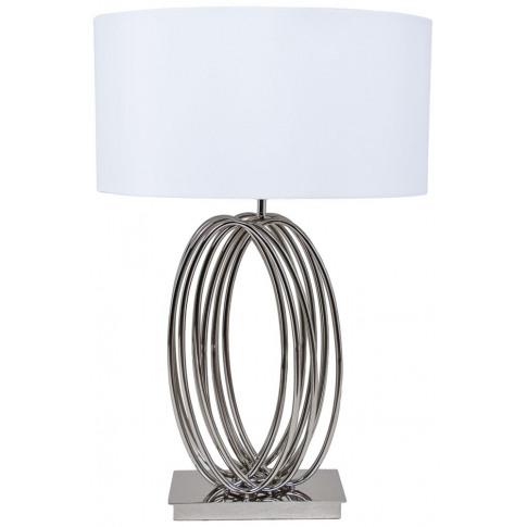 Rv Astley Harmony Nickel Looped Table Lamp