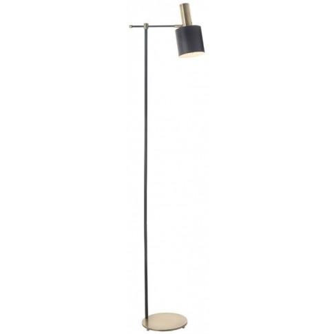 Rv Astley Pelle Antique Brass Floor Lamp