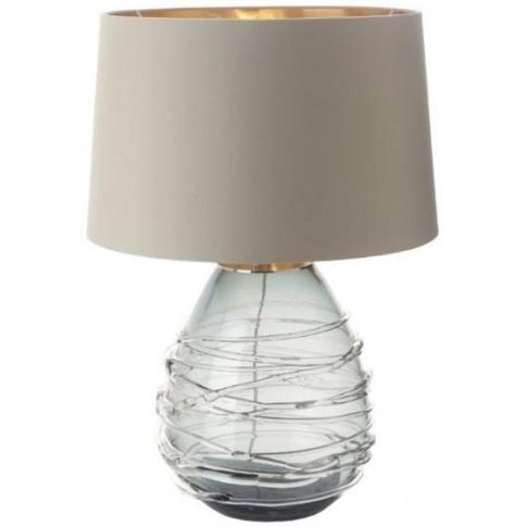 Rv Astley Veliky Smoke Glass Table Lamp (Base Only)