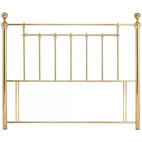 Serene Benjamin 6ft Super Kingsize Brass Metal Headb...