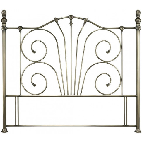 Serene Jessica 4ft Small Double Antique Brass Metal ...