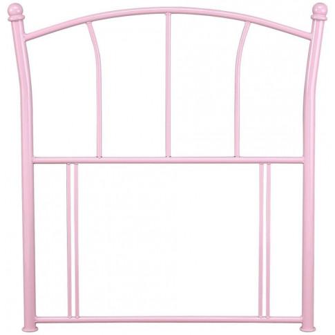 Serene Penny 3ft Single Pink Metal Headboard