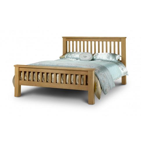 Julian Bowen Amsterdam 5ft King Size Oak Bed
