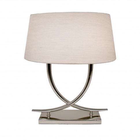 Rv Astley Arianna Nickel Table Lamp