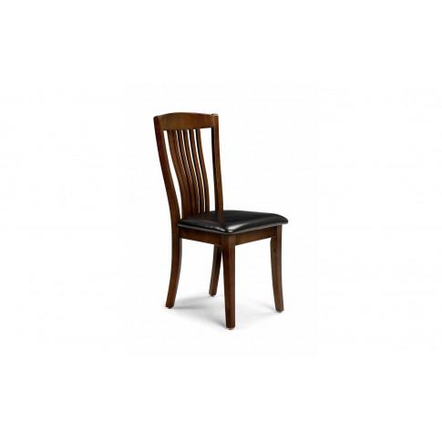 Julian Bowen Canterbury Mahogany Dining Chair