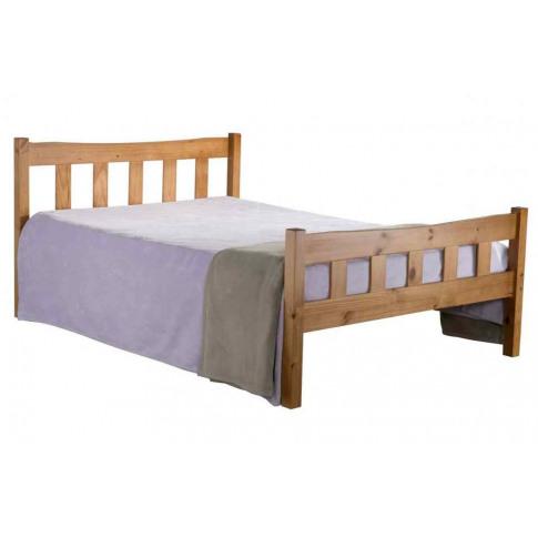 Birlea Miami 4ft6 Double Pine Bed