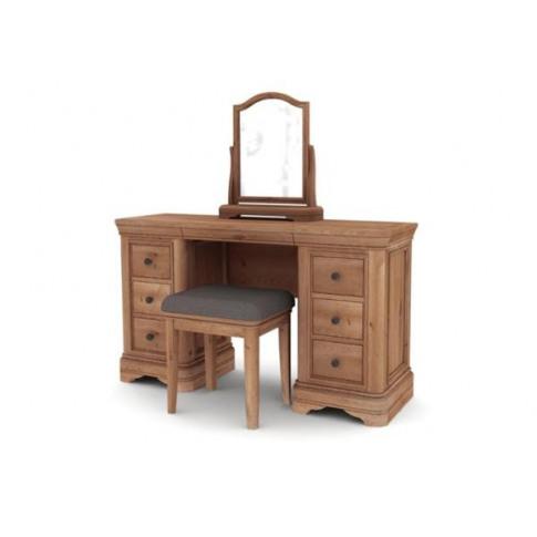 Carmen Oak Dressing Table