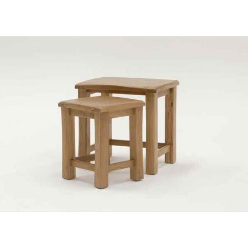 Breeze Oak Nest Of Tables