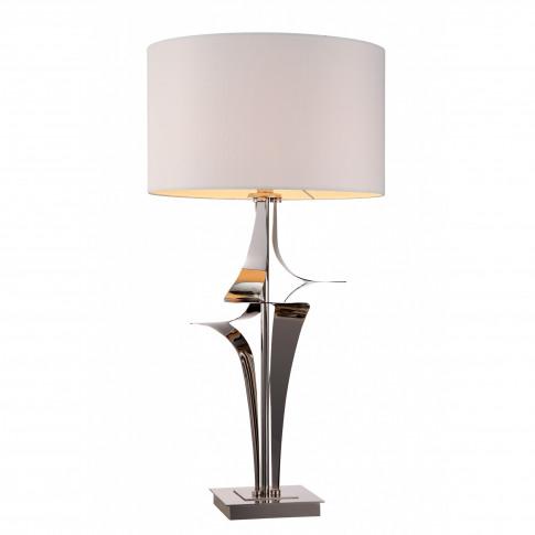 Rv Astley Gian Nickel Table Lamp