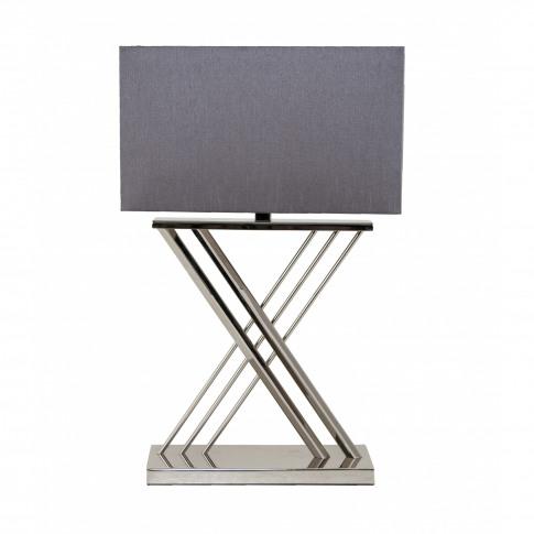 Rv Astley Roma Nickel Table Lamp