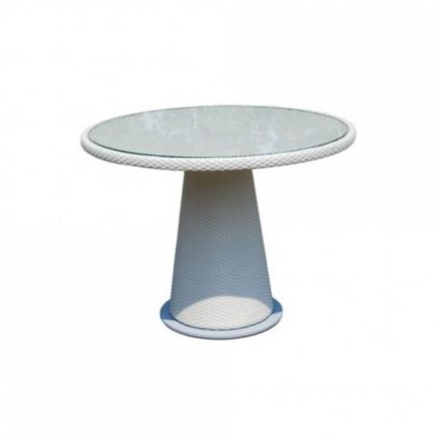 Skyline Alba Rattan 4-6 Seat Round Dining Table