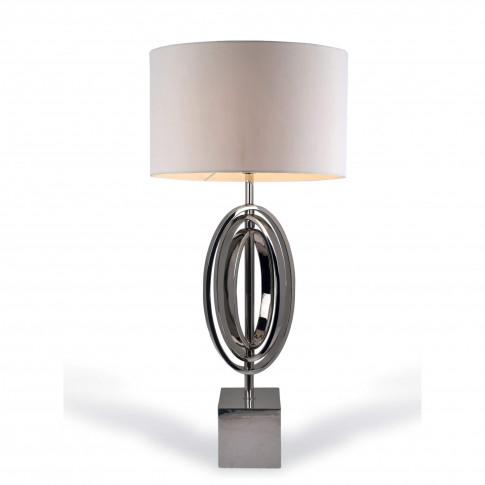 Rv Astley Seraphina Nickel Table Lamp