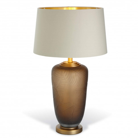 Rv Astley Truro Antique Brass Table Lamp (Base Only)
