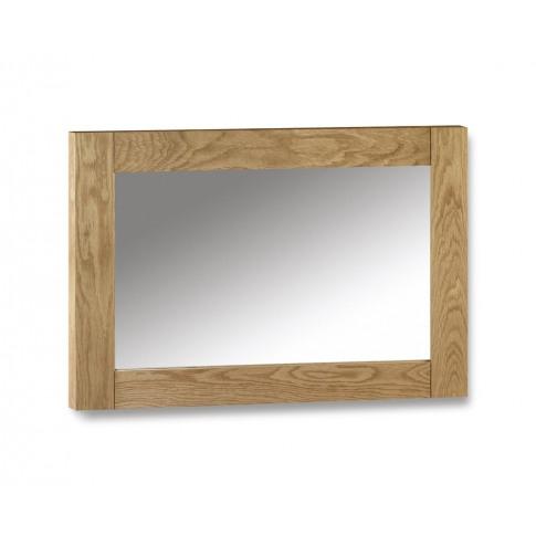 Julian Bowen Marlborough Oak Wall Mirror