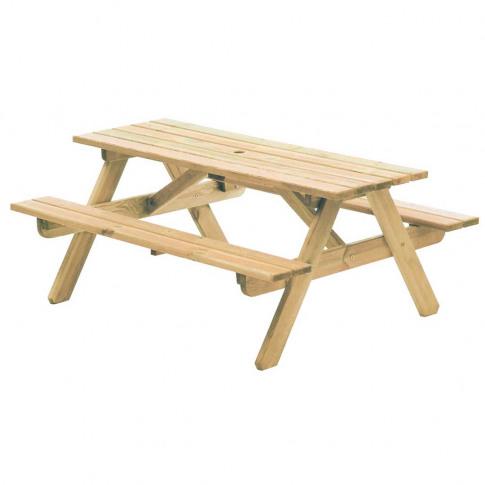 Alexander Rose Pine Woburn Picnic Table Garden Bench...