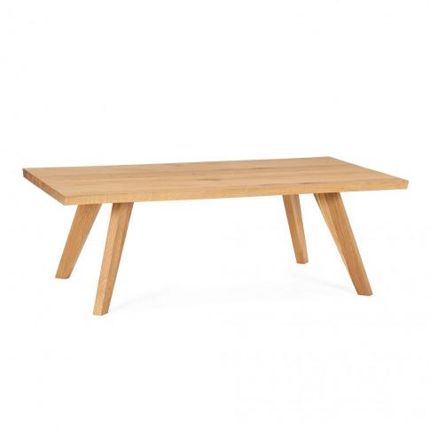 Bentley Designs Cadell Rustic Oak Coffee Table