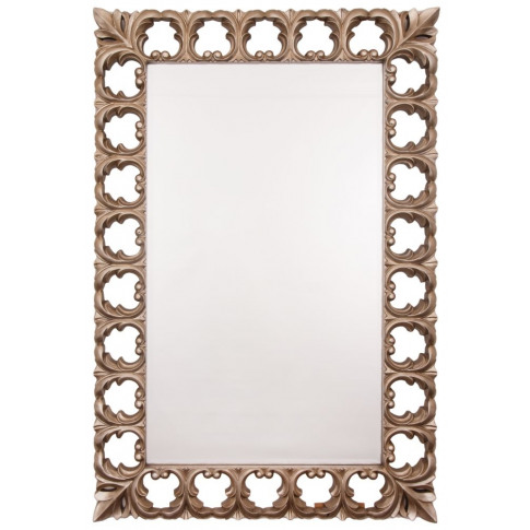 Rv Astley Bianca Champagne Silver Frame Wall Mirror
