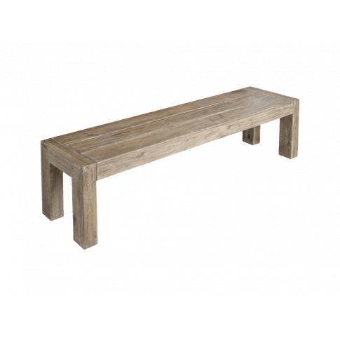Alexander Rose Mahogany Distressed 180 X 40 Cm Wooden Bench