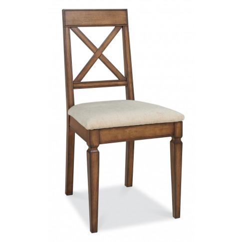 Bentley Designs Sophia Oak 'X' Back Dining Chair