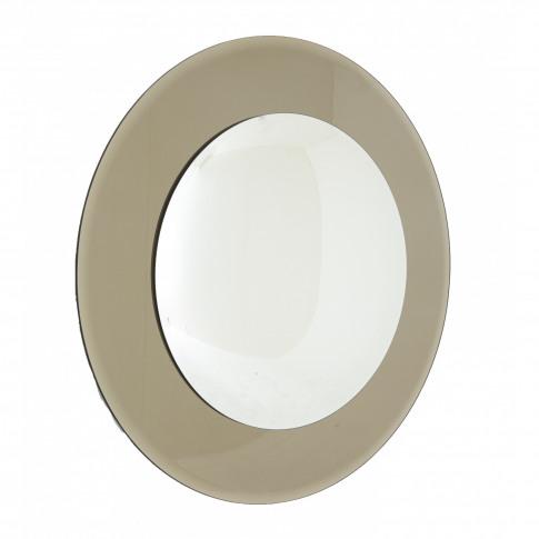 Rv Astley Luna Bronze Convex Wall Mirror