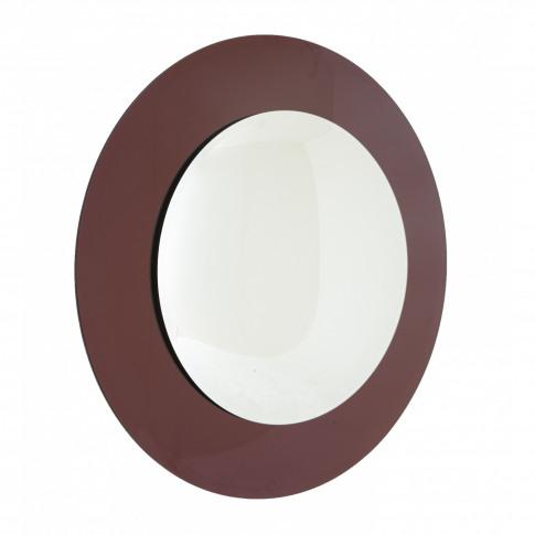 Rv Astley Luna Purple Convex Wall Mirror